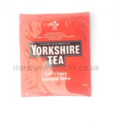 Yorkshire Tea Bag Foil Sachet